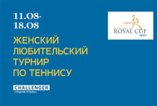 Женский турнир по теннису Royal Cup Open категории CHALLENGER